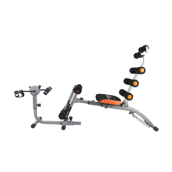 six power gym with U with mini cycle